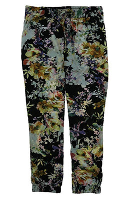 Buffalo David Bitton Ladies Tara Soft Pant - Black Multi Floral
