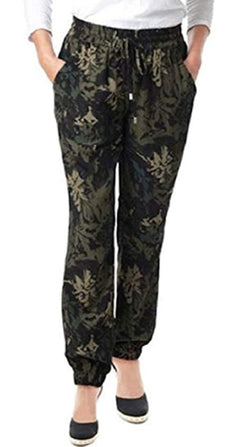 Buffalo David Bitton Ladies Super Flattering Tara Soft Pant - Floral Camo