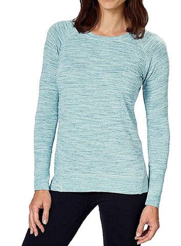 Champion Ladies' Lightweight Long Sleeve Tee - Parrot Blue