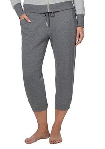 Champion Ladies' French Terry Capri - Charcoal