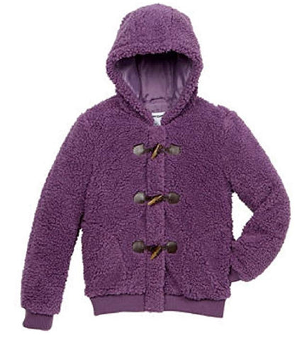 CoffeeShop Girls' Whubby Fleece Jacket - Meadow Purple
