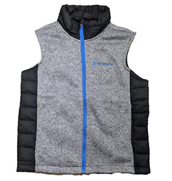 Free Country Boys' Youth Hybrid Vest - Concrete Gray