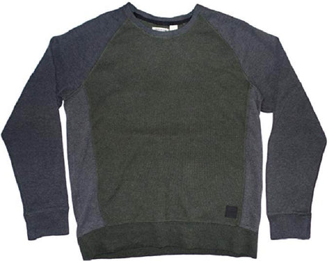 DKNY Jeans Men's Sweater Color Block - Green