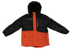 Free Country Hooded Boarder Jacket for Boys - Orange, Grey