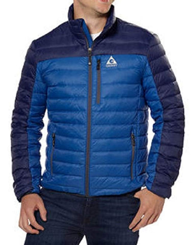 Gerry Mens Feather Down Jacket - Deep Sky Blue
