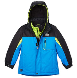 Gerry Boys 3 in 1 System Hooded Jacket with Knit Beanie - Sky Diver Blue