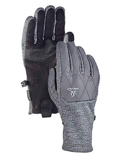 HEAD Women's Hybrid Glove, Cold Weather Running Gloves - Grey