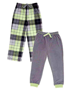 St. Eve Boys' Sleep Pant 2-pack - Green and Grey