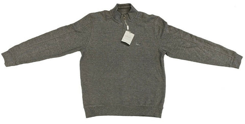 Greg Norman Men's 1/4 Zip Pullover Sweater - Grey Heather
