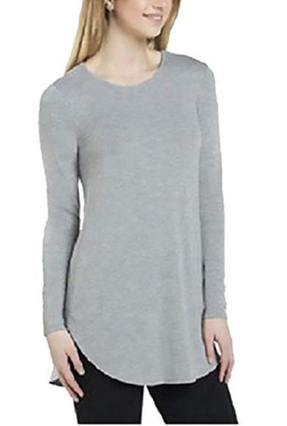 Joan Vass Ladies' Long Sleeve Tunic - Grey