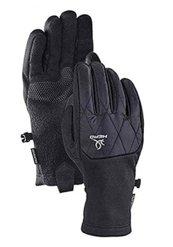 HEAD Women's Hybrid Glove, Cold Weather Running Gloves - Black