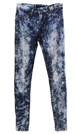Joe's Jeans Girls Tween Jegging Ultra Slim Fit Pants - Acid Wash Tie Dye- Mack
