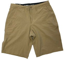 O'Neill Men's Hybrid Stretch Walk Shorts - Khaki
