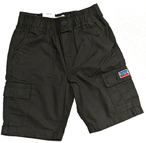 Levi's Youth Boys Cargo Shorts Black