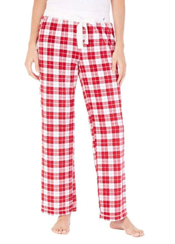 Nautica Women's Pajama Bottom Pant - Red Plaid