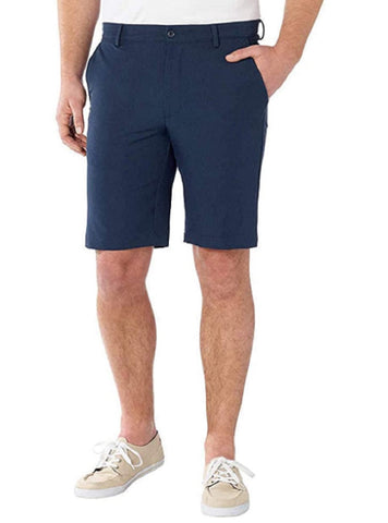 Greg Norman Mens Ultimate Travel Luxury Performance Shorts - Navy