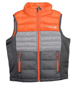 Free Country Boys Power Down Vest - Orange