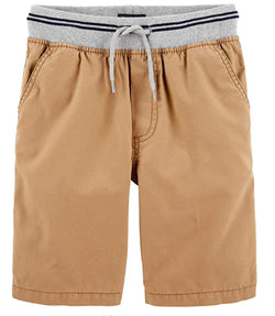 OshKosh B'Gosh Boys Pull-On Shorts - Cedar
