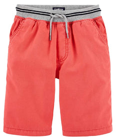 OshKosh B'Gosh Boys Pull-on Shorts - Coral
