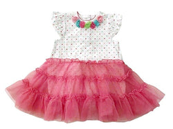 Little Me Baby Girls Popover Tutu Dress - Pink