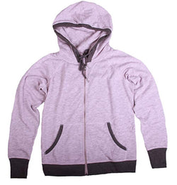 Champion Ladies' French Terry Full Zip Hoodie - Pink Heather