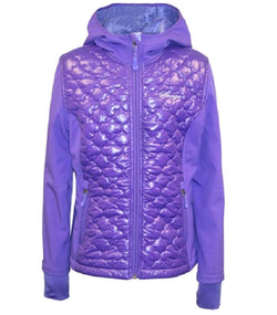 Snozu Girls Hooded Softshell Jacket - Purple