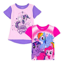 My Little Pony Little Girls 2-Piece Tee Set