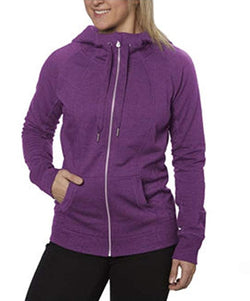 Champion Elite Women's High Collar Hooded Sweatshirt - Ornate Purple
