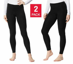 32° Degrees Heat Women's Base Layer Pant 2pk Black