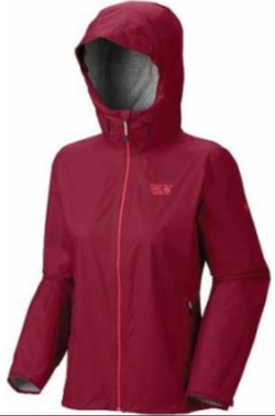 Mountain Hardwear Womens Plasmic Jacket - Sangria