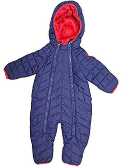 Snozu Boys Newborn/Infant 1pc Snowsuit - Navy