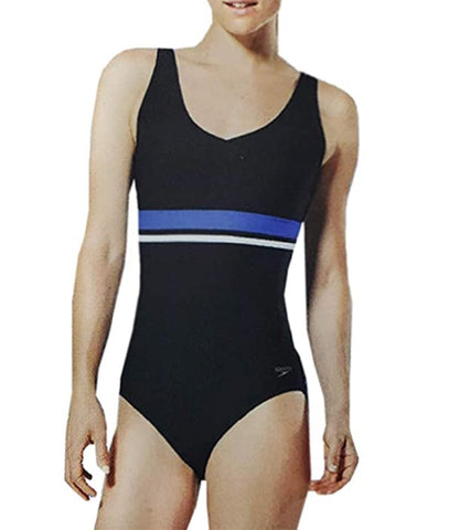 Speedo Ladies' One Piece Swimsuit - Speedo Black