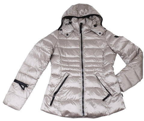 e9d9fcc65 Andrew Marc Women's Packable Featherweight Down Hooded Jacket - Pearlized  Thistle