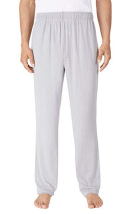 Tommy Bahama Men's Soft Knit Lounge Pants With Draw Strings - Light Grey