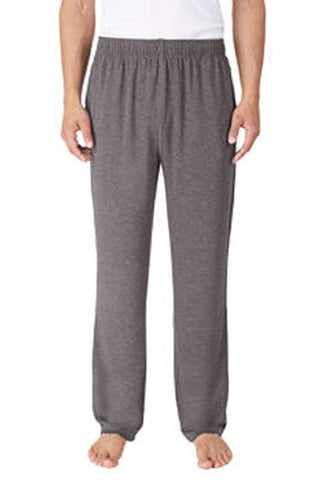 Tommy Bahama Men's Soft Knit Lounge Pants With Draw Strings - Charcoal Heather