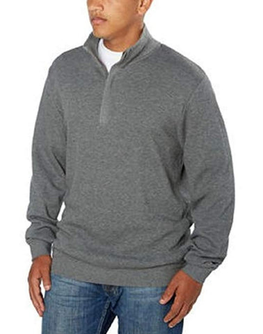 Cutter & Buck Men's 1/4 Zip Pullover - Gray