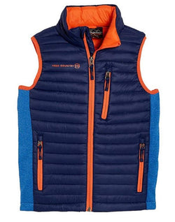 Free Country Boys Power Down Vest - Navy