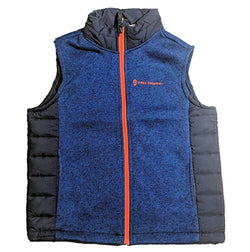 Free Country Boys' Youth Hybrid Vest - Electric Blue