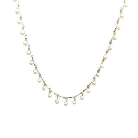 Pearl Dangle Necklace