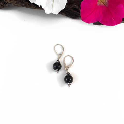 8mm Stone Earrings