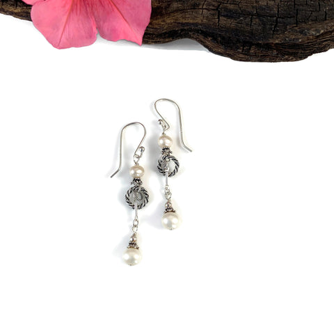 Pearl Baby Blythe Dangle Earrings
