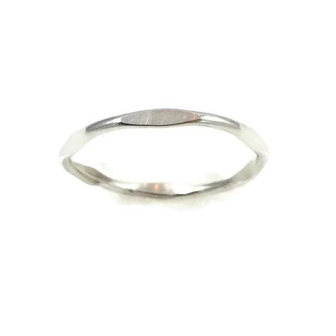 Silver Bamboo Ring