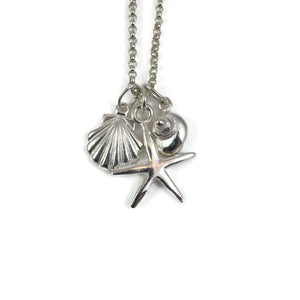 Beach Trio Charm Necklace