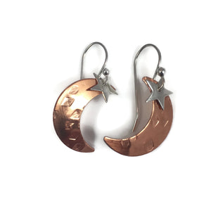 Copper Moon W/ Silver Star