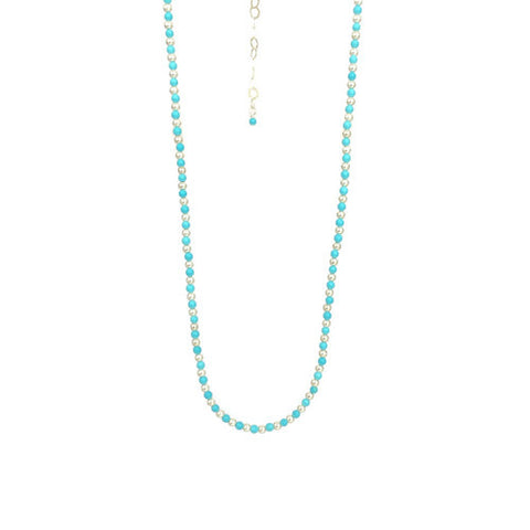 Dot Dot Turquoise Choker Necklace