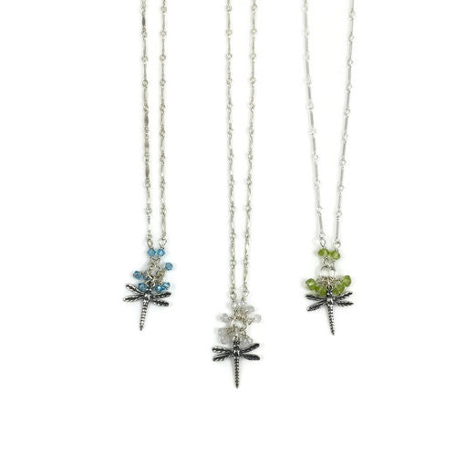 Dragonfly Bobble Necklace