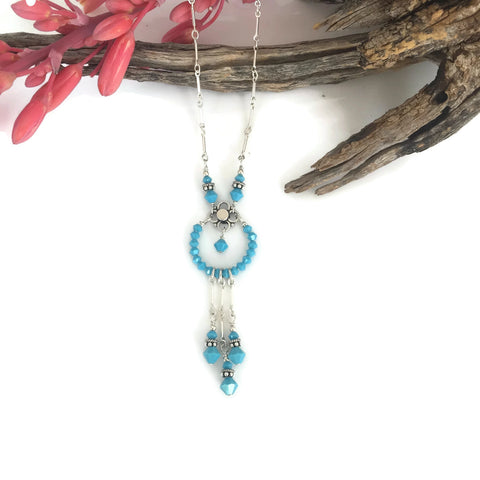 Dreamcatcher Crystal Necklace