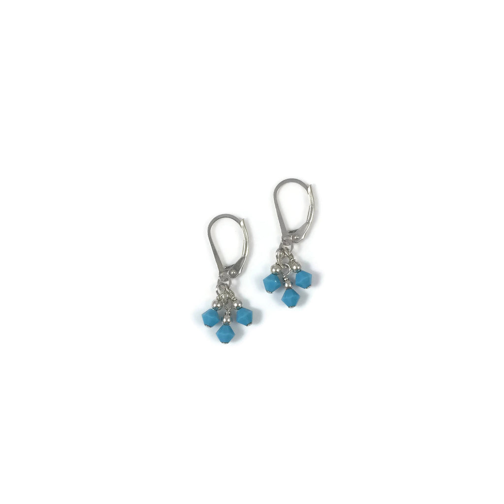 Diana Crystal Bobble Earrings