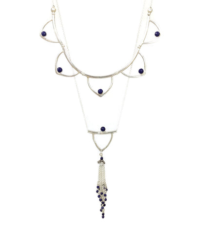 Goddess Necklace in Amethyst