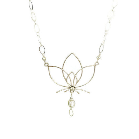 Pure Petal Lotus Necklace